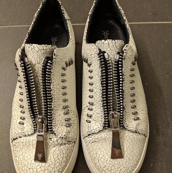 Frye Shoes   Lena Rebel Zip Low   Poshmark